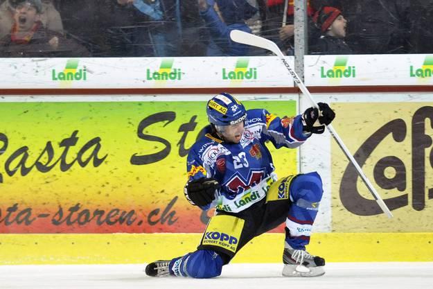 Biels Spieler Ulmer traf beim 3:0-Sieg der Bieler