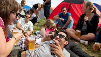 Bei Grossveranstaltungen wie dem Gurten-Festival werden schon heute Mehrwegbecher eingesetzt.