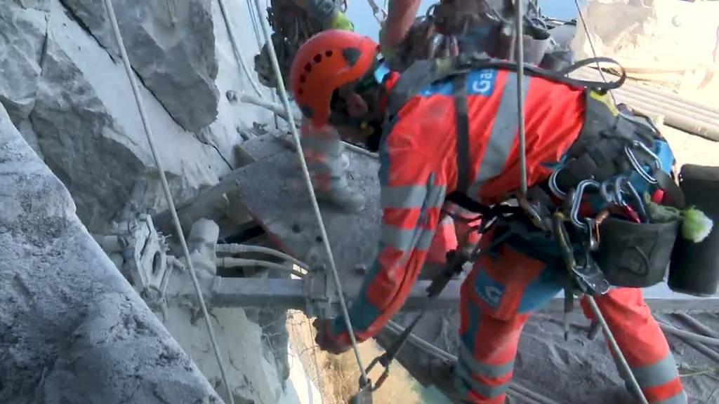 Tag im Läbe vo – Arbeiten am Hammetschwandlift