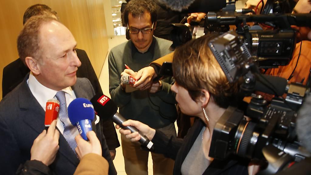 Berufungsverfahren gegen UBS in Frankreich im März 2021