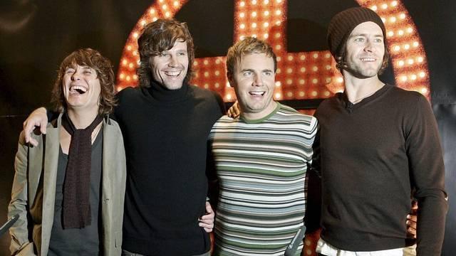 Take That - hier (noch) ohne Robbie Williams