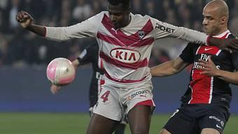 Bordeaux-Stürmer Cheick Diabaté brachte sein Team in Führung.