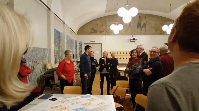 Die Stadt- und Einwohnerräte fassen die Erkenntnisse aus dem Zukunftsraum-Forum zusammen.