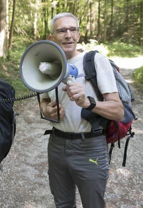 Roman Würsch ist Chef vom Dienst und hat seit 2015 die Wanderprojekte mitbetreut. Eines seiner Leserwandern-Highlights ist die 1.-August-Wanderung aus dem Jahr 2011 von Teufenthal nach Schöftland.