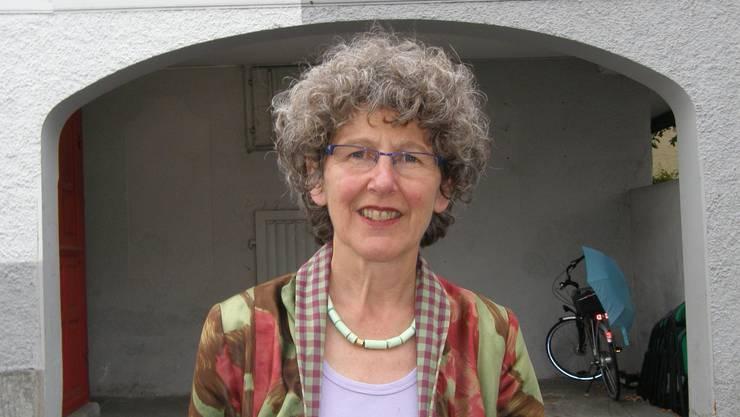Eva Keller, die Präsidentin des Vereins Kultur im Sternensaal, freut sich über die öffentliche Anerkennung. (Bild: ba)