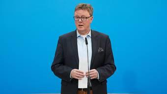 Der Parlamentarische Geschäftsführer der Unionsfraktion im deutschen Bundestag, Michael Grosse-Brömer (CDU), sprach am Samstagabend von Fortschritten bei den Koalitionsverhandlungen. (Archivbild)