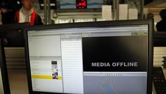 Nichts geht mehr: Hacker legten den französischen Sender TV5-Monde lahm.