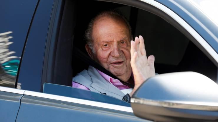 Der spanische Altkönig Juan Carlos hat am Samstag eine Woche nach seiner Herz-Operation das Spital verlassen.