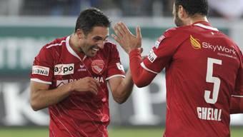 Enrico Schirinzi (links) könnte das Lachen vergehen