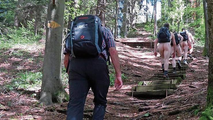 Eine Rütnerin ist bei ihrem Ausflug in Bäretswil vier nackten Männer begegnet. (Leserbild)