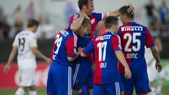 FC Basel gegen Fortuna Düsseldorf