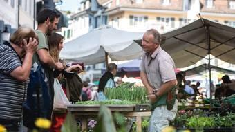Impressionen Solothurner Wochenmarkt 2018