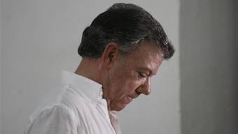 Kolumbiens Präsident Juan Manuel Santos hat alles auf den Frieden gesetzt – und verloren.CHRISTIAN ESCOBAR MORA/EPA/Keystone