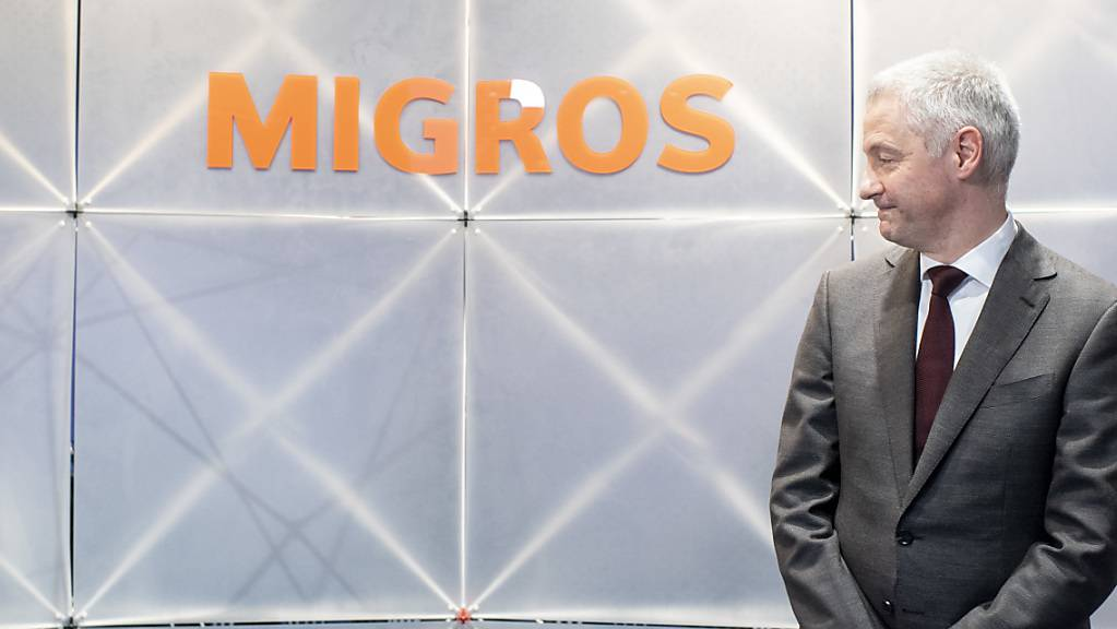 Migros-Chef Fabrice Zumbrunnen sieht klare Verbesserungen beim Detailhandels-Riesen. (Archivbild)