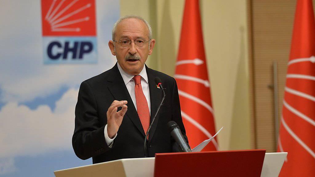 Oppositionsführer nennt Erdogan «Diktator»