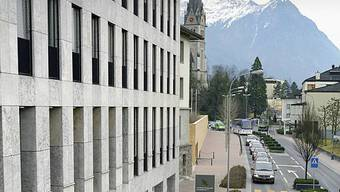 Sitz der Landesbank in Liechtenstein