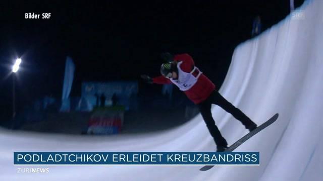 Saisonende für Iouri Podladtchikov