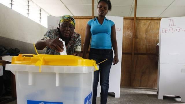 Wahllokal in Kinshasa
