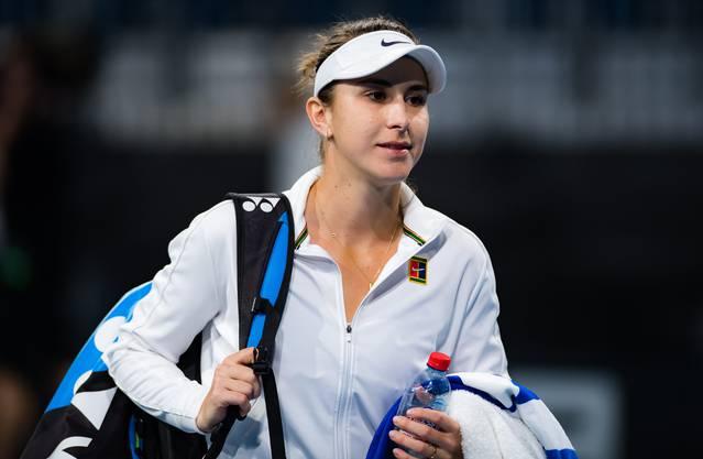 Belinda Bencic nahm im ersten Jahr der Corona-Pandemie nur an einem Grand-Slam-Turnier teil. In Melbourne scheiterte sie in der dritten Runde.