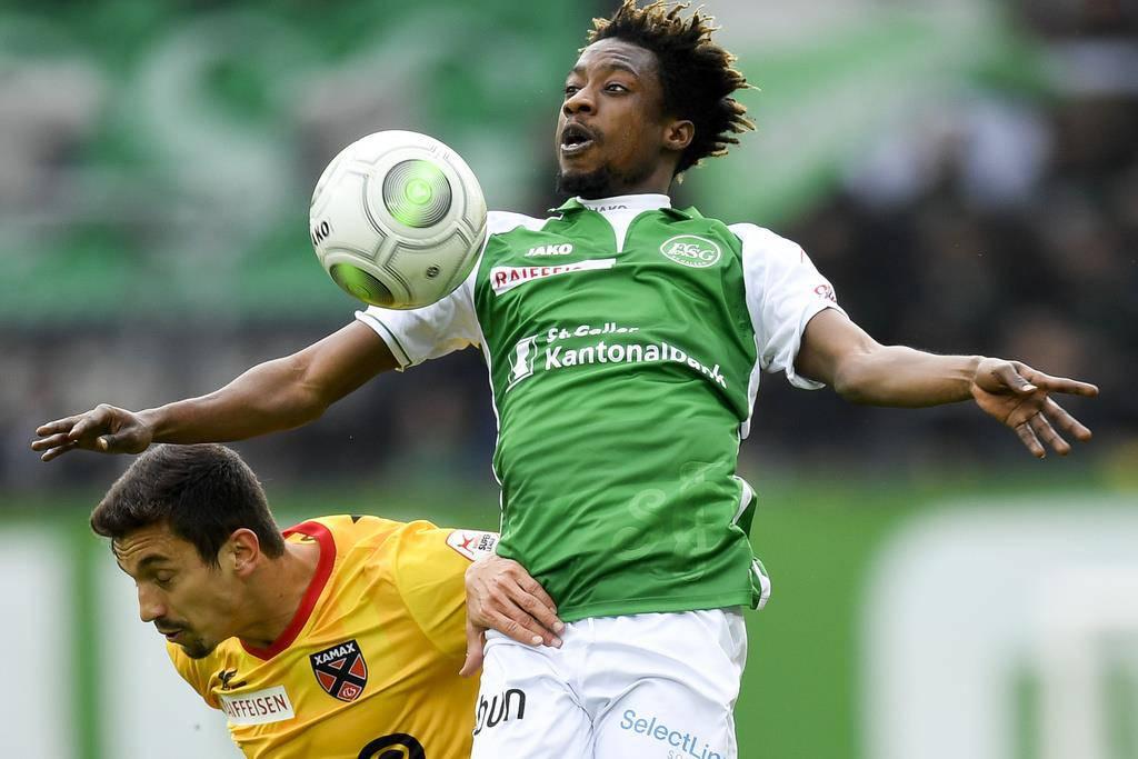 Begonnen hatte er seine Karriere in der West African Football Academy. (© Keystone)