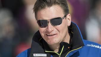 Swiss-Ski-Präsident Urs Lehmann freut sich über eine erfolgreiche Olympia-Saison der Alpinen