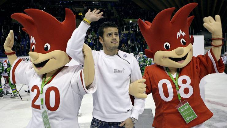 2007 machte Tranquillo Barnetta zusammen mit Trix und Flix Werbung für die EM 2008