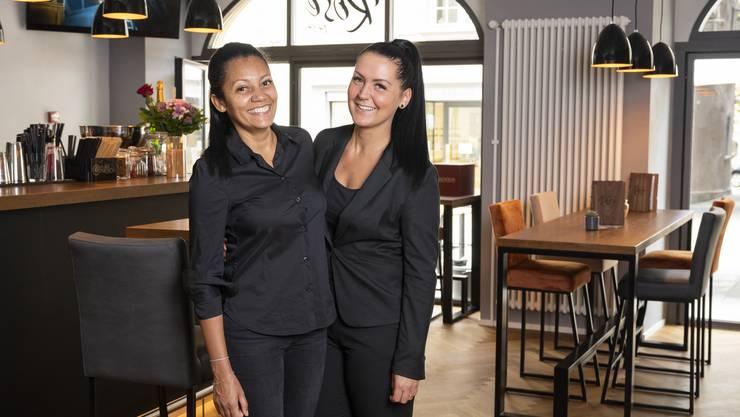Die neuen Gastgeberinnen in der «Rose» an der Weiten Gasse: Paula Walker (l.) und Vanessa Ramaglia.