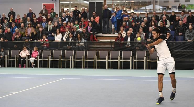 Sandro Ehrat erreichte erstmals das Finalspiel am Tennis Pro-Open Aargau in Oberentfelden.