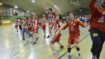 Der TV Solothurn hat Grund zu feiern: Das Team hat den Weg zurück in die Erfolgsspur gefunden