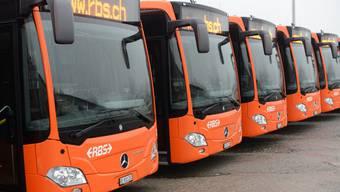 Die Busse verzeichneten einen leichten Rückgang bei den Fahrgästen.