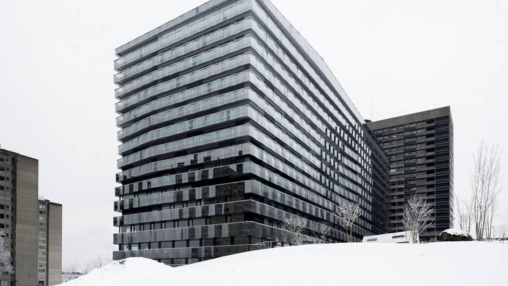 Das neue Bettenhaus verursachte hohe Kosten für das Triemlispital.