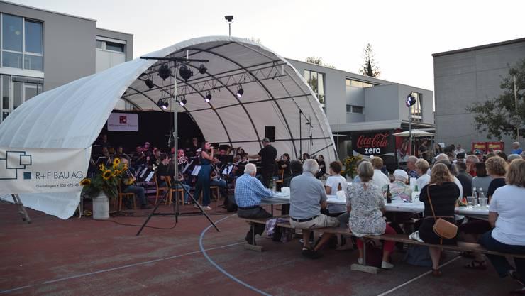 Openair-Konzert der Harmonie im Mühlemattareal