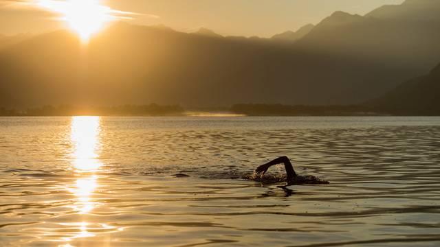Bündner will nach Mailand schwimmen