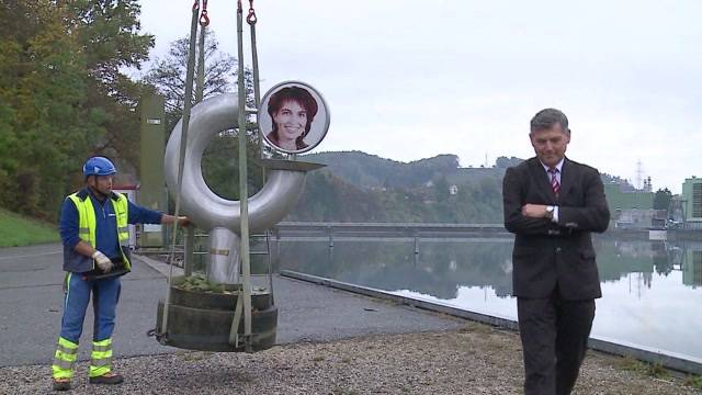 Ex-Grossrat entführt Leuthard-Skulptur