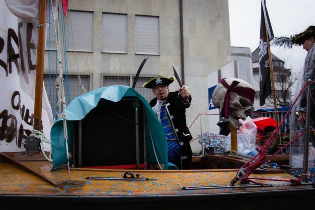 Piraten im Chly Paris.