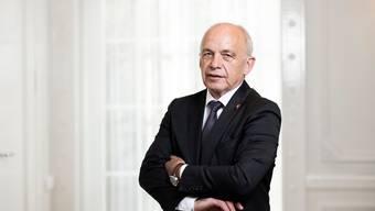 «Ich wüsste nicht, was ich im hohen Alter Spannenderes tun könnte»: Ueli Maurer über seinen Job als Bundesrat.
