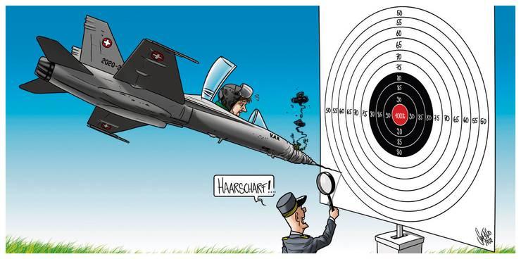 Die Karikatur von Silvan Wegmann zum Thema.