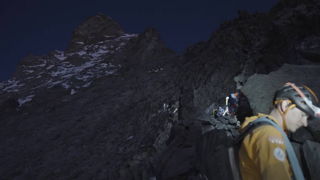 Mut beginnt im Kopf: Beatrice Egli besteigt das Matterhorn