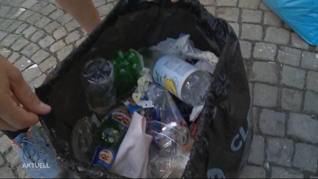 Joggen und Müll sammeln? Das nennt sich Plogging