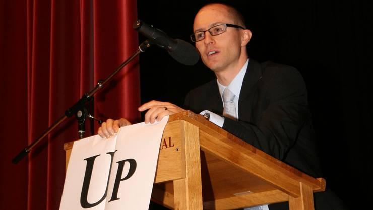 «Unautorisiert, persönlich» ist die Rede von Christoph Hofstetter.