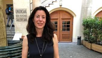 Die frischgebackene Basler Regierungsratskandidatin Tanja Soland.