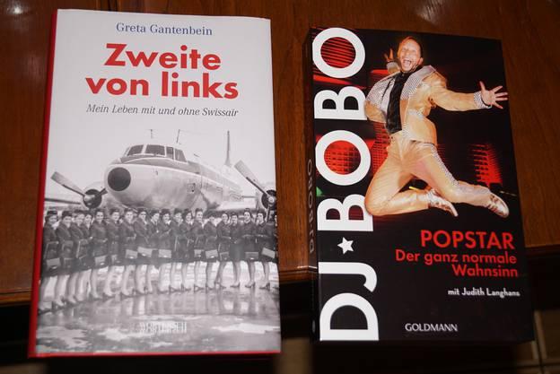 Thema der Livesendung waren unter anderem die Autobiographien der beiden Persönlichkeiten