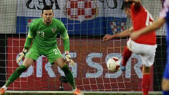 Testspiel zwischen der Schweiz und Kroatien