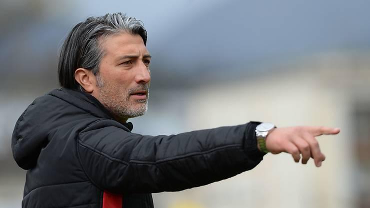 Murat Yakin dirigiert künftig die Fussballer des FC Schaffhausen.
