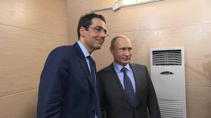 Das spannendste Interview für Rochebin war jenes mit Wladimir Putin.