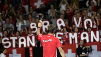 Schweizer Davis Cup-Team führt 2:0 gegen Ecuador