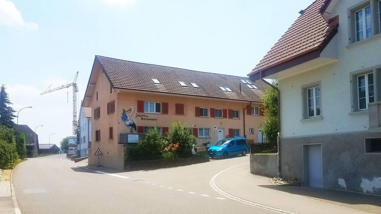 Seit 2012 ist das «Storchenäscht» in Othmarsingen zu Hause. Zuvor war das Geburtshaus fast 30 Jahre in Lenzburg.