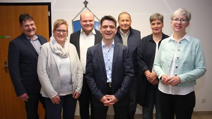 Die «neuen» Gemeinderatsmitglieder