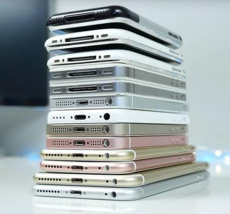 Die iPhones wurden in der Vergangenheit nicht nur immer besser, sondern auch immer grösser. Setzt sich der Trend heute fort