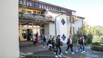 Die Bezirksschule Fahrwangen wird im Sommer 2022 geschlossen. archiv/to